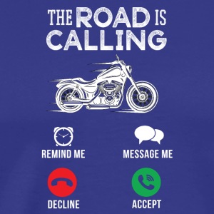 Motorcycle biker calls - Men's Premium T-Shirt