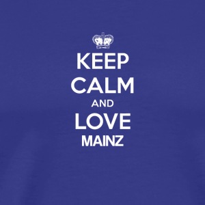 Keep Calm and love MAINZ - Men's Premium T-Shirt