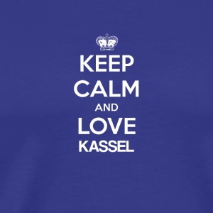 Keep Calm and love KASSEL - Men's Premium T-Shirt