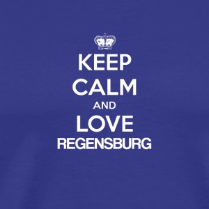 Keep Calm and Love REGENSBURG - Men's Premium T-Shirt