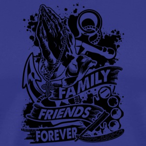 Family Friends Forever 666 - Männer Premium T-Shirt