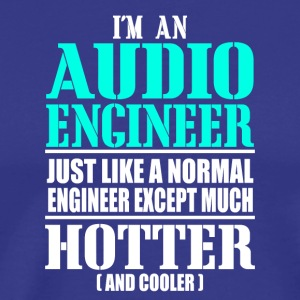 AUDIO ENGINEER - Camiseta premium hombre