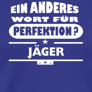 Jaeger Other word for perfection - Men's Premium T-Shirt