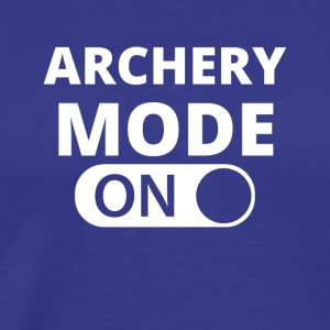 MODE ON ARCHERY - Men's Premium T-Shirt