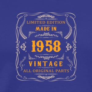 1958 Birthday Vintage - Men's Premium T-Shirt