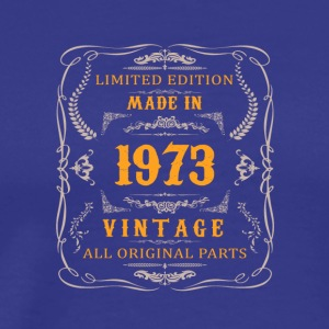 1973 birthday vintage - Men's Premium T-Shirt