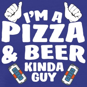 53 kind of guy pizza - Männer Premium T-Shirt