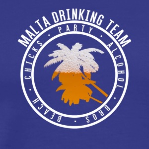Shirt party holiday - Malta - Men's Premium T-Shirt
