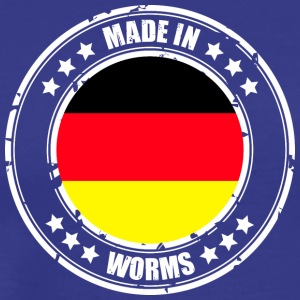 WORMS - Mannen Premium T-shirt