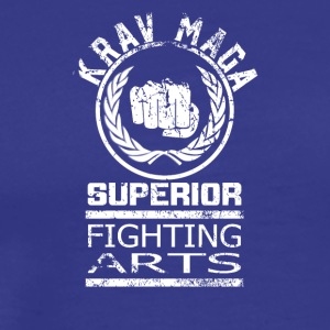 Superior Fighting Arts Krav Maga Self Defense Tee - Männer Premium T-Shirt