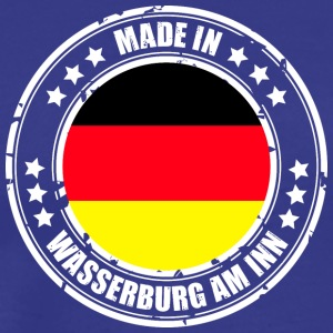 WASSERBURG AT INN - Men's Premium T-Shirt