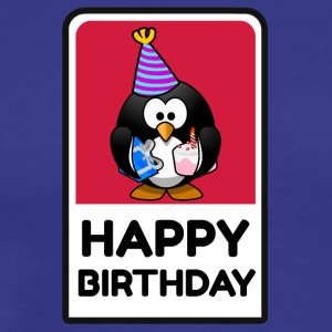 Happy Birtday Pingu - Men's Premium T-Shirt