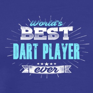 Worlds greatest dart player - Men's Premium T-Shirt