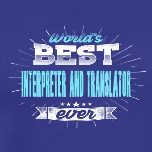 World translator - Men's Premium T-Shirt