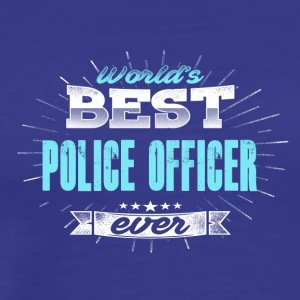 World Best Policeman - Premium-T-shirt herr
