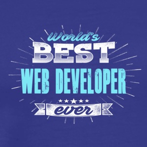 World's Best Web Developers - Mannen Premium T-shirt