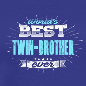 World twins brother - Men's Premium T-Shirt
