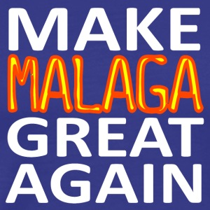 MAAK MALAGA GREAT AGAIN - Mannen Premium T-shirt