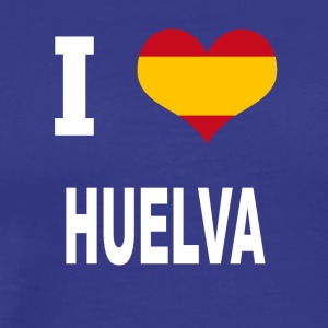 I Love Spain HUELVA - Premium T-skjorte for menn