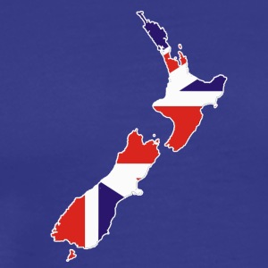 Briten in Neuseeland Britons New Zealand UK Shirt - Männer Premium T-Shirt