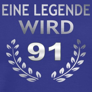 En legende tenner 91 - Premium T-skjorte for menn