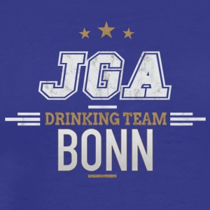 Bachelor Party JGA Bonn Drinking Team - Men's Premium T-Shirt