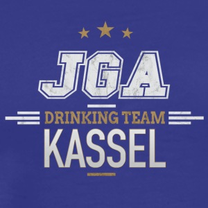 Bachelor Party JGA Kassel Drinking Team - Men's Premium T-Shirt