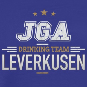 Bachelor Party JGA Leverkusen Drinking Team - Men's Premium T-Shirt