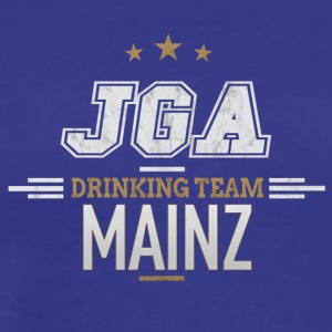 Bachelor Party JGA Mainz Drinking Team - Men's Premium T-Shirt