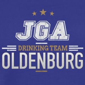 Bachelor Party JGA Oldenburg Drinking Team - Men's Premium T-Shirt
