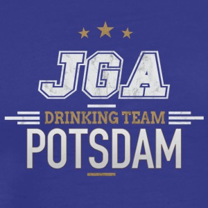 Bachelor Party JGA Potsdam Drinking Team - Men's Premium T-Shirt