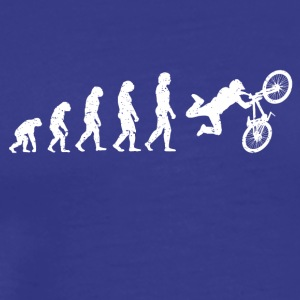 Evolution Bike Stunt Bike cool shirt - Men's Premium T-Shirt