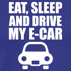 Eat, sleep and drive my e-car
