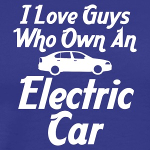 I love guys who own an electric car