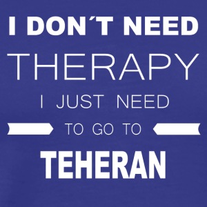 i dont need therapy i just need to go to - Men's Premium T-Shirt