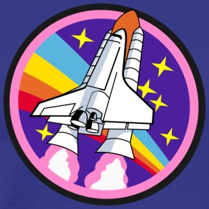 Space shuttle - Mannen Premium T-shirt