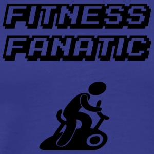 fitness fan - Premium T-skjorte for menn