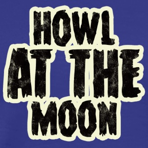 Werewolf / Halloween: Howl At The Moon - Men's Premium T-Shirt