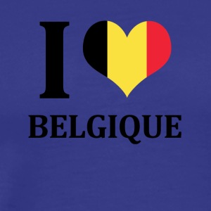 I love Belgique - Men's Premium T-Shirt