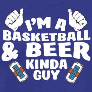 57 kind of guy basketball - Men's Premium T-Shirt