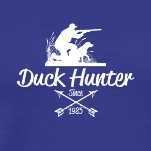 Duck Hunter - Premium-T-shirt herr