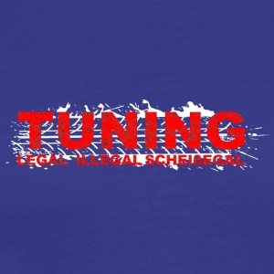 Tuning Legal illegal scheissegal Tuner used - Männer Premium T-Shirt