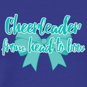 Cheerleader from head to bow. - Men's Premium T-Shirt