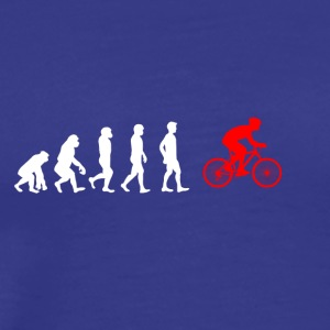 EVOLUTION bycicle bicycle mountainbike - Men's Premium T-Shirt