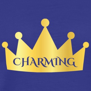 Sagor: Charming - Crown - Premium-T-shirt herr