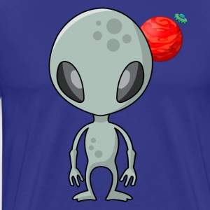 Friendly Alien - Camiseta premium hombre