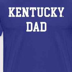 Kentucky Dad Basketball Big Blue Madness Shirt - Men's Premium T-Shirt