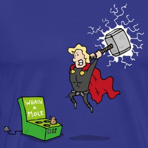 Thor God of Whack a Mole - Men's Premium T-Shirt