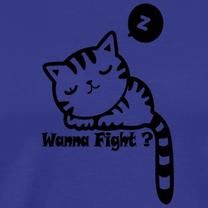 wannafight Blak - Premium T-skjorte for menn