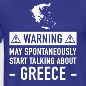 Funny Gift Idea Greece - Men's Premium T-Shirt